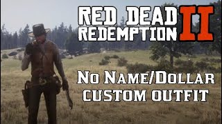 No Name/Dollar Clint Eastwood Custom Outfit - Red Dead Redemption 2 Unique Fashion