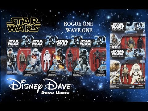 STAR WARS: ROGUE ONE Force Friday Action Figure Wave 1 Launch | Toy Review & First Look