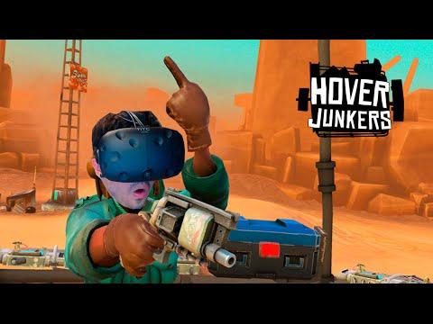 El MEJOR shooter de REALIDAD Virtual!! HOVER JUNKERS  (HTC VIVE VR)