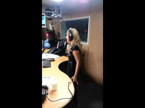 Kat Deluna @RadioContact with NightConcept.be