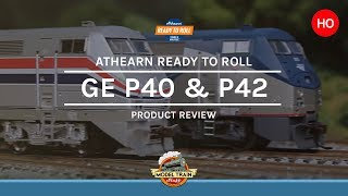 HO scale Athearn GE P40 & P42 Locomotive