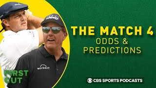 The Match 4 Preview, Odds, Predictions: Phil Mickelson-Tom Brady vs Bryson DeChambeau-Aaron Rodgers