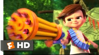 The Boss Baby - Tim vs Baby Gang: Tim (Miles Bakshi) tries to give evidence of his little brother's (Alec Baldwin) deception to his parents (Jimmy Kimmel and ...