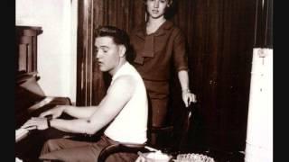 elvis presley jingle bells instrumental i asked the lord home recording 1959