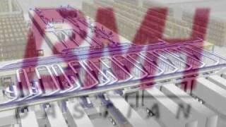 Material Handling System Walk Through Animation - Industrial Material Handling Equipment