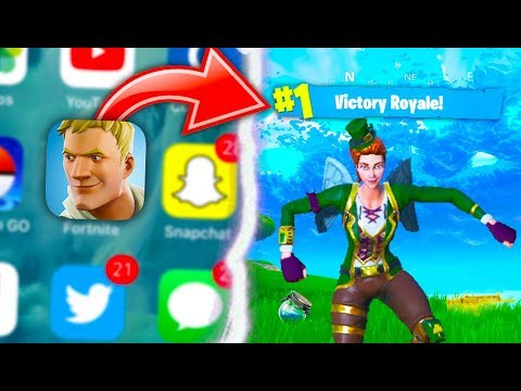 Download Youtube: HOW TO GET Fortnite Battle Royale Mobile RIGHT NOW + FREE Invite Code GIVEAWAY!