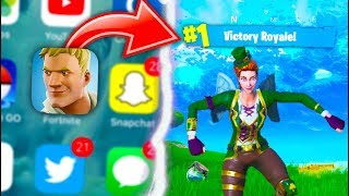 COMO obter o Fortnite Battle Royale Mobile agora + FREE convidar GIVEAWAY código!