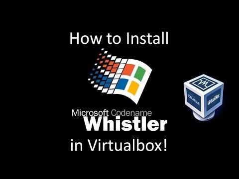 Windows Whistler Build 2250 - Installation In Virtualbox
