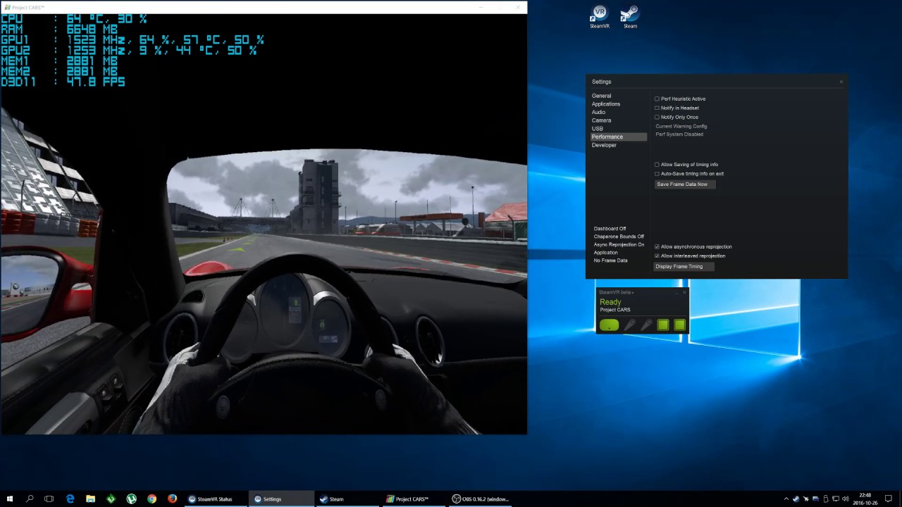 How to enable SteamVR