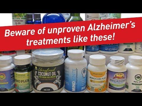 Sarykarmen Rivera  - La FDA advierte sobre suplementos para el alzheimers