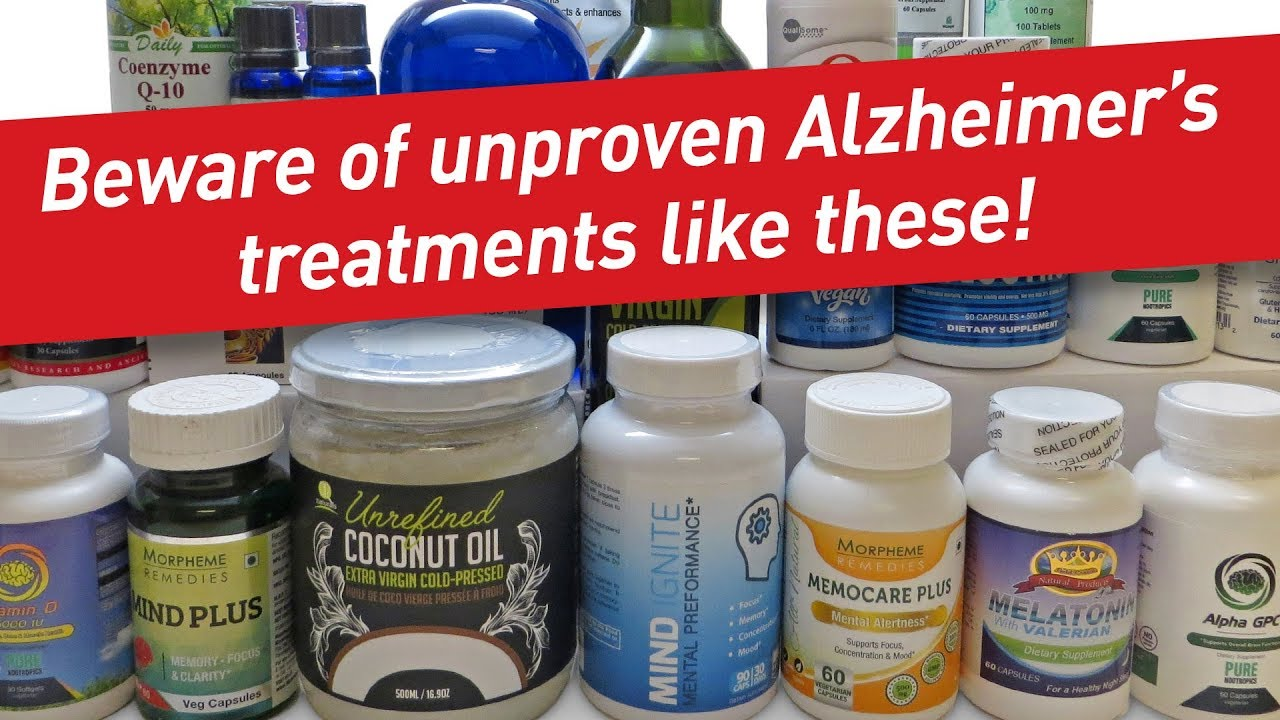 Fda Warns Of Products Claiming To Cure >> Watch Out For False Promises About So Called Alzheimer S Cures Fda