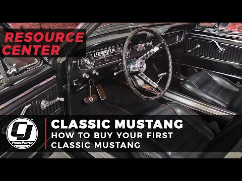 How To Buy Your First Classic Mustang [CJ