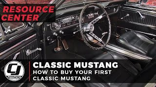 How To Buy Your First Classic Mustang