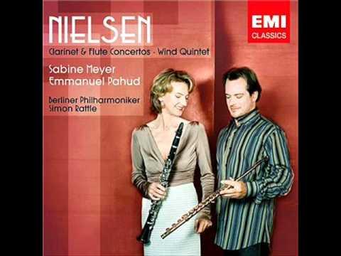 Nielsen~Flute concerto, 2nd movement(E, Rattle, Berliner Philharmoniker)