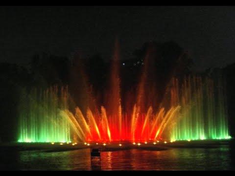 Wasserspiele in Planten un Blomen (Tango-Musik) - Поющие фонтаны в Гамбурге  (18.08.2015)