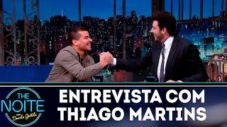Entrevista com Thiago Martins   The noite (15/10/18)