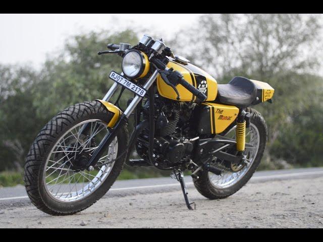 Bajaj Pulsar 150 The Maniac by The Hustler Moto