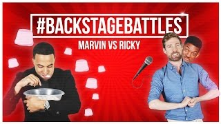 EXCLUSIVE: Marvin Humes vs Ricky Wilson - #BackstageBattles - The Voice UK 2015 - BBC One