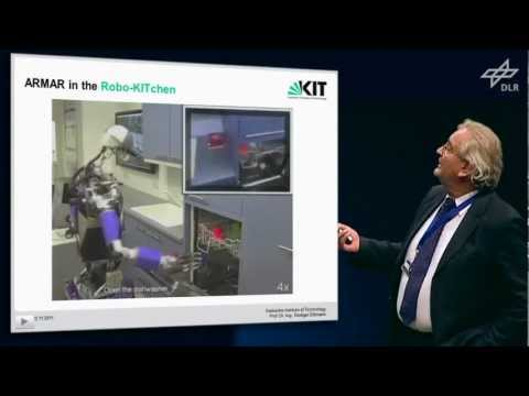 DLR Robotics Symposium 2011 - Rüdiger Dillmann: What can a Robot learn from Human Demonstration?