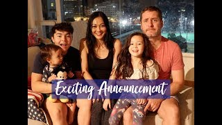 EXCITING ANNOUNCEMENT!!