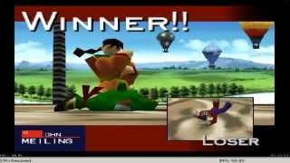 Fighters Destiny: Meiling Vs. COM (Arcade Mode) Playthrough [Nintendo 64 - 1998]
