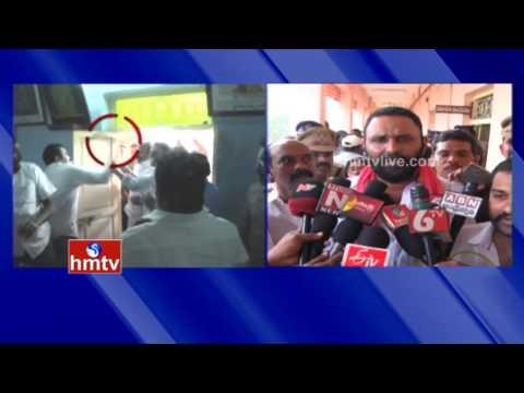 YCP Vs TDP | Fighting In Gudivada Municipal Meeting | Kodali Nani Responds | HMTV