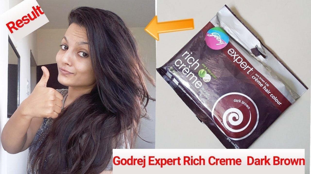 Hair Touch Up At Home Godrej Expert Rich Cream Dark Brown