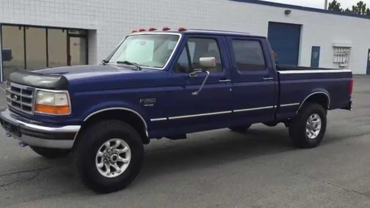 1996 ford f250 xlt powerstroke