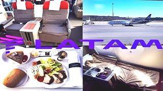 LATAM BUSINESS CLASS Madrid to Frankfurt Boeing 787-9
