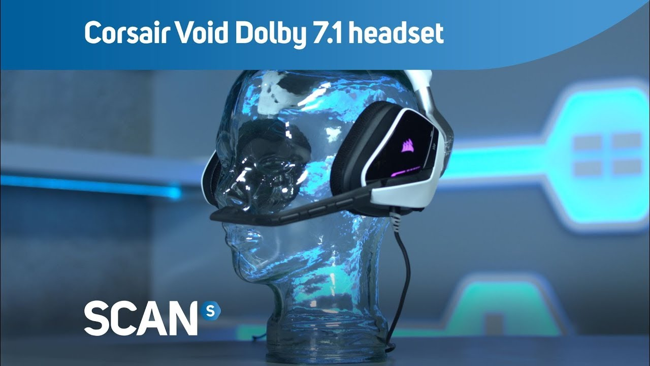 Corsair Gaming VOID Dolby 7 1 Gaming Headset with RGB Lighting - Overview