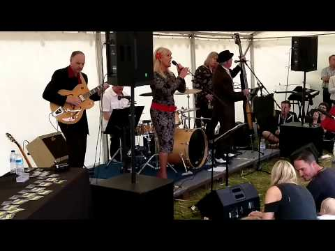 Stupid Cupid (cover) - The Jive Agents at Mersea Island 24/05/15