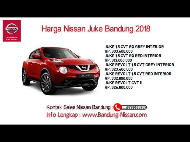 Harga Nissan Juke - Dealer Nissan Bandung | 081323589292