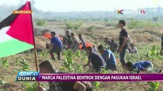 Download Palestina Bersitegang dengan Tentara Israel di jalur Gaza