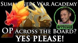 Fire Inugami → Raoq,Wind Warbear → Ramagos: OP across the board? Yes Please! (Summoners War Academy)