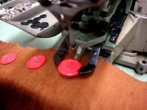Juki MB40 Button Sew Machine YouTube Custom Button Sewing Machine Price