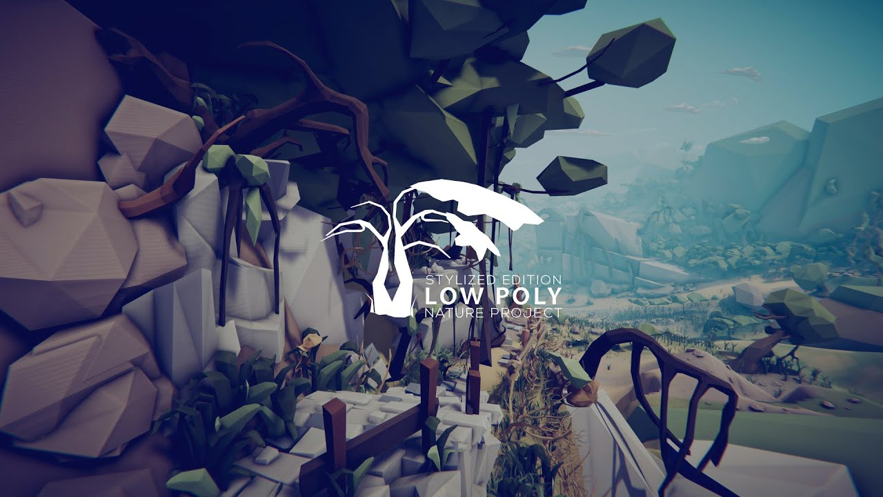 Low Poly Nature Project Pack Stylized - Assets Presentation