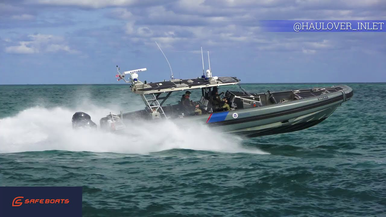 SAFEBOATS COASTAL INTERCEPTOR CBP / FROM HAULOVER INLET TO SOUTH MIAMI / ONLY THE BEST YACHT CONTENT