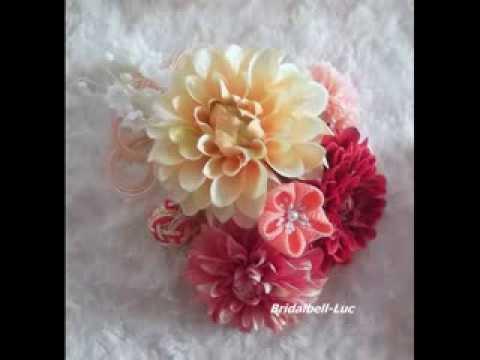【kimono hair accessories】KIMONO髪飾り 結婚式・成人式・卒業式和装髪飾り