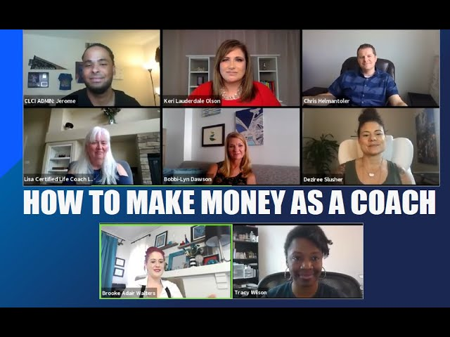 How to Make Money as a Life Coach