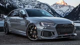 FINALLY! 2019 AUDI RS4+ (530hp) that SOUNDS AWESOME! - Custom made exhaust by ABT SPORTSLINE
