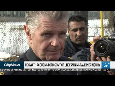Horwath says Ford is undermining Taverner inquiry
