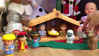 Bebé Nenuco monta el belén de Navidad de Fisher Prize 👑. Ya es Navidad en mis toys!