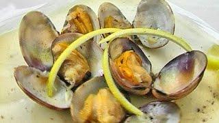 Жареные моллюски.