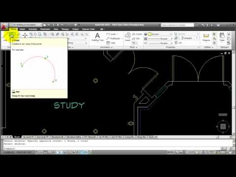 how to autocad creating an electrical lighting plan part. Black Bedroom Furniture Sets. Home Design Ideas