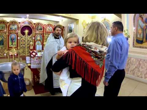 Видеосъемка Крещения Свято-Троицкий Храм. Киев. Студия RindaVideo