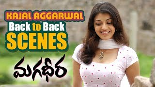Kajal Agarwal || Back to back Scenes || Magadheera || Ram charan , SS. Rajamouli