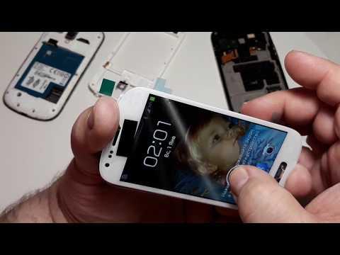 Ремонт и восстановление телефона белого Samsung Galaxy S III Mini I8190.  Часть 1