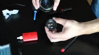 Helios 44M-4 lens cleaning easy tutorial
