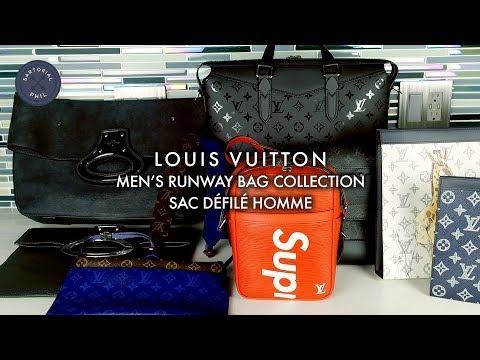 Louis Vuitton Men's Runway Bag Collection/Sac Défilés Homme (Limited Edition bags)