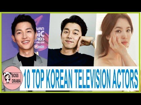 [BREAKING] 10 TOP KOREAN TELEVISION ACTORS 2017